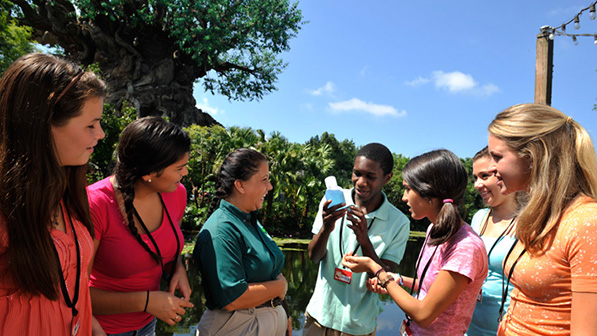Discover how diverse cultures and animals respond to conservation challenges on a global level as you adventure through Disney's Animal Kingdom park.