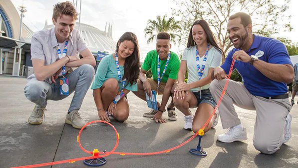 Experience physics in practical application as we demonstrate force, motion and gravity at work in some of the most popular attractions at Magic Kingdom park.