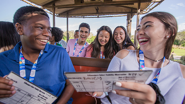 Journey behind the scenes and on select attractions to explore wild careers in zoology. Discover the innovative ways that Disney staff promote animal care and well being.